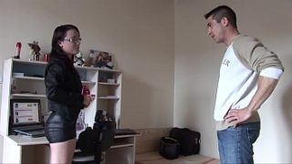 French My mature mom give me an perfect blowjob – son stepmom